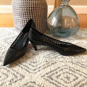 NEW Nine West Black Low Heel Pumps
